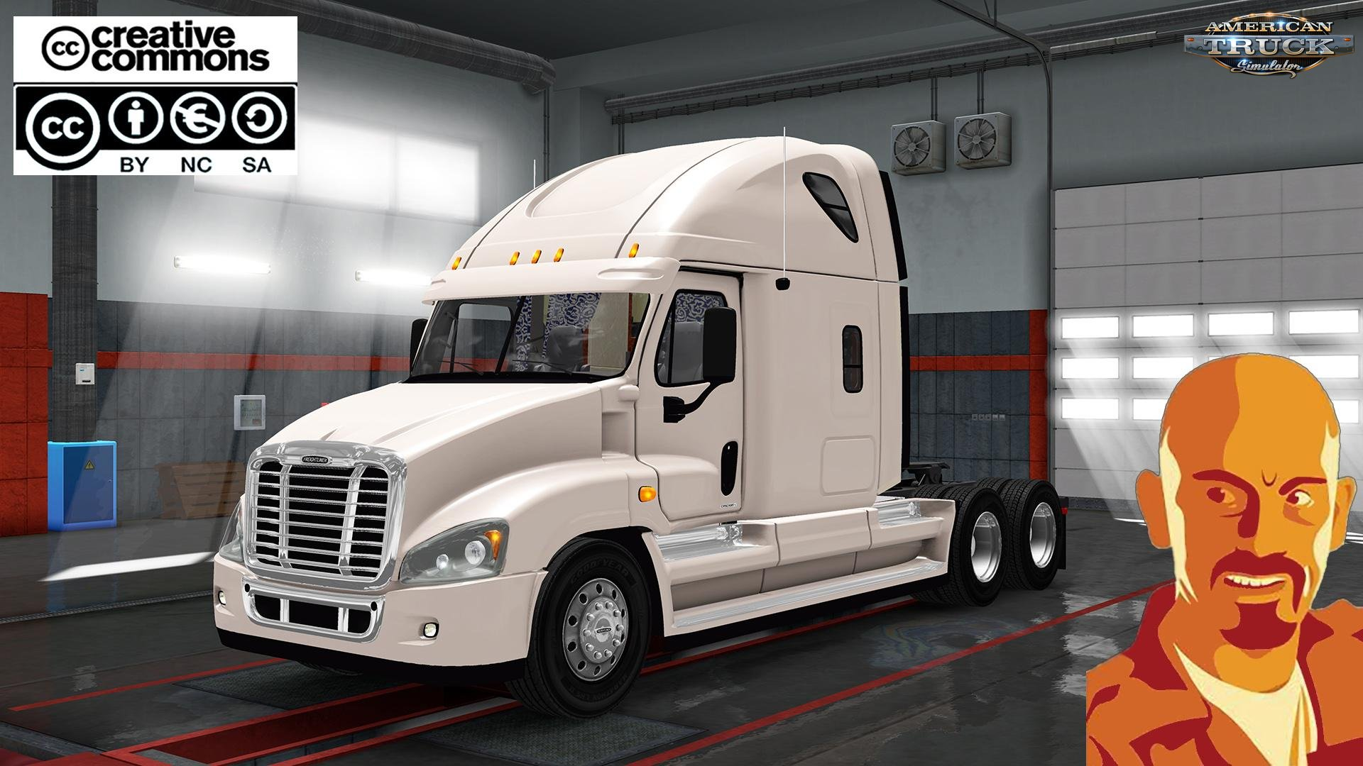 Freightliner Cascadia v1.0 by CyrusTheVirus (1.28.x)