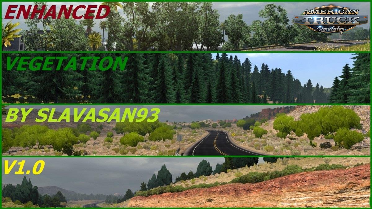 Enhanced Vegetation v1.0 by slavsan93 (v1.28.x)