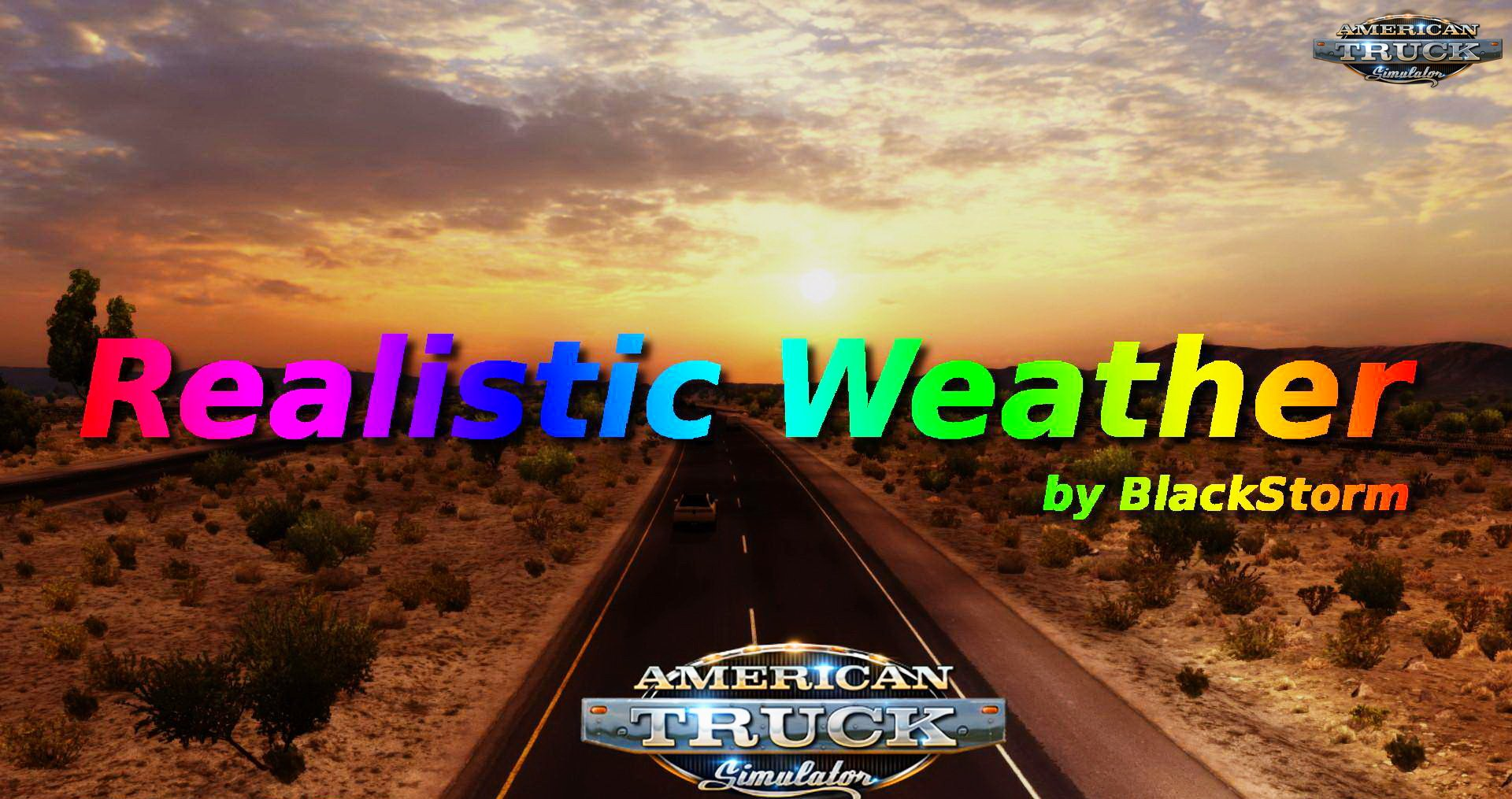 Realistic Weather v1.0 by BlackStorm (1.28.x)