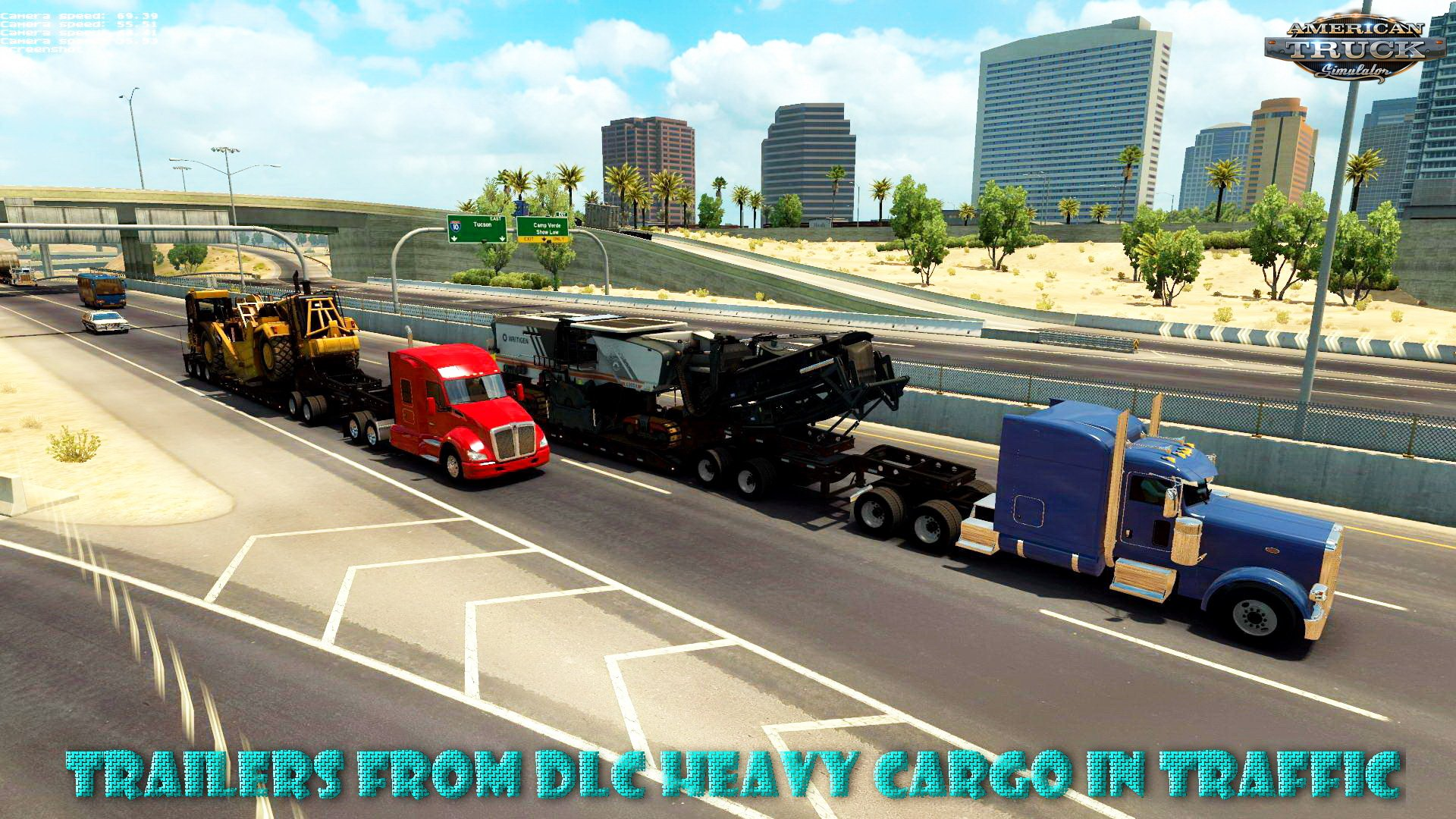 Trailers from DLC Heavy Cargo in Traffic v1.0 (1.28.x)