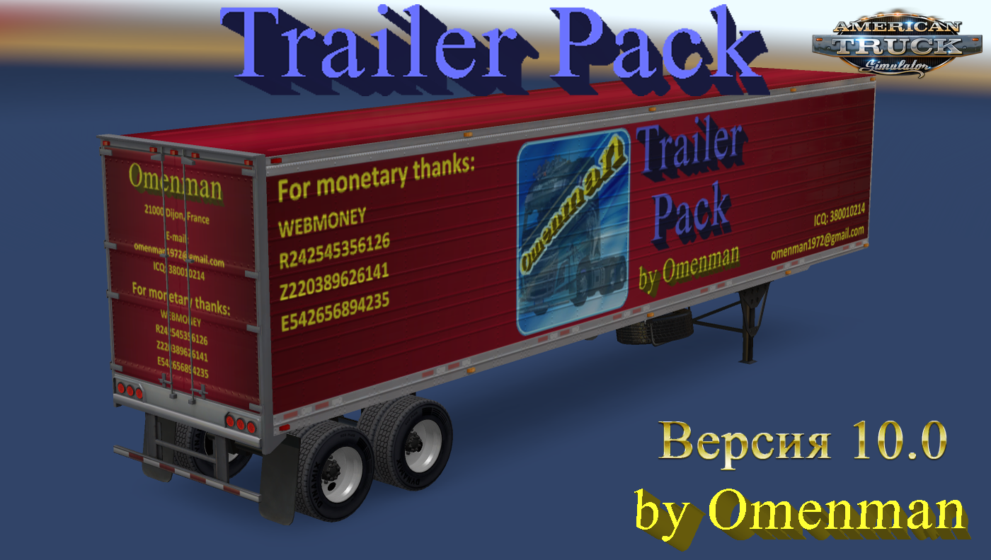 Trailer Pack by Omenman v10.0 (1.28.x)