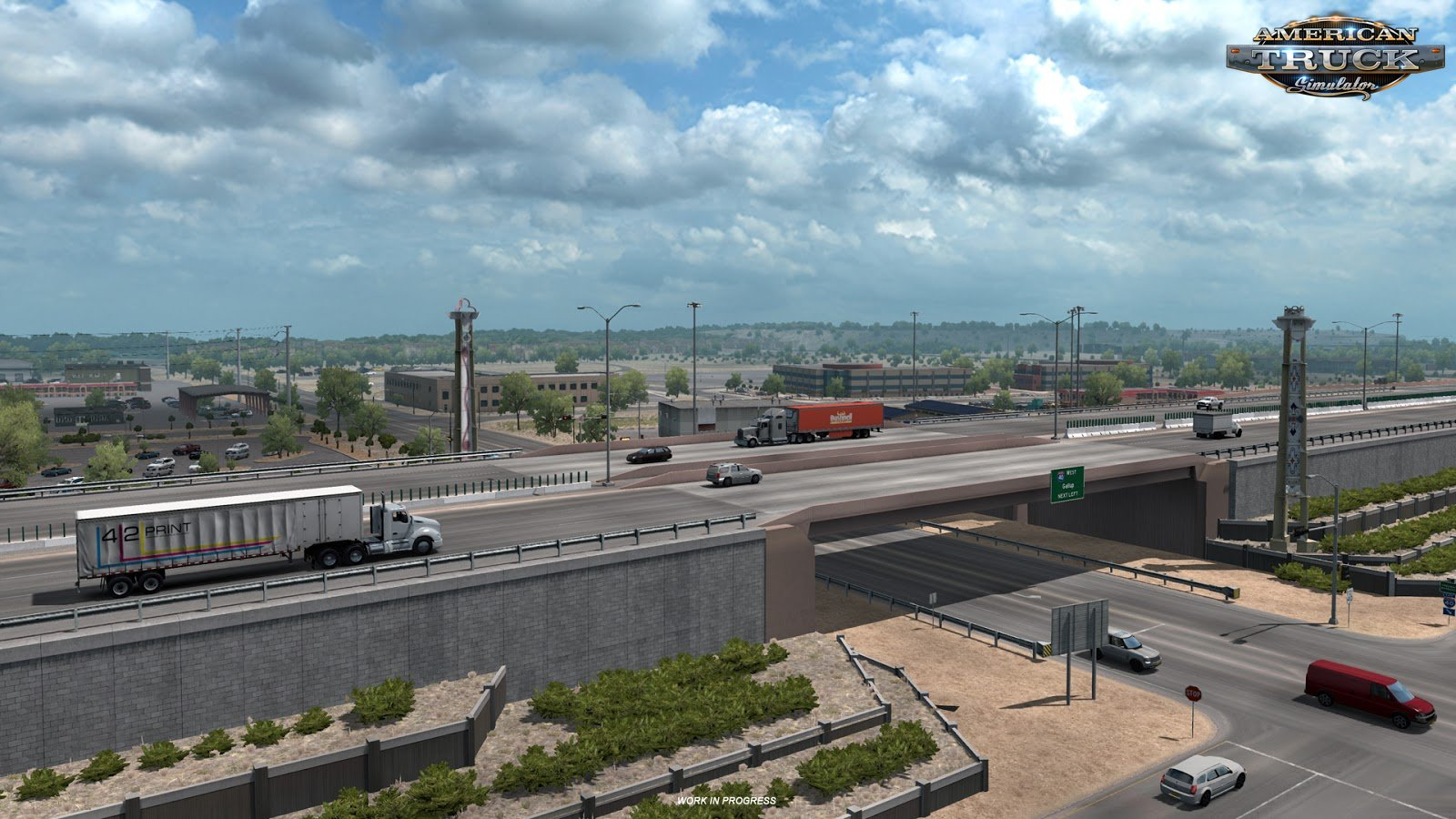 New Mexico: Albuquerque city in ATS