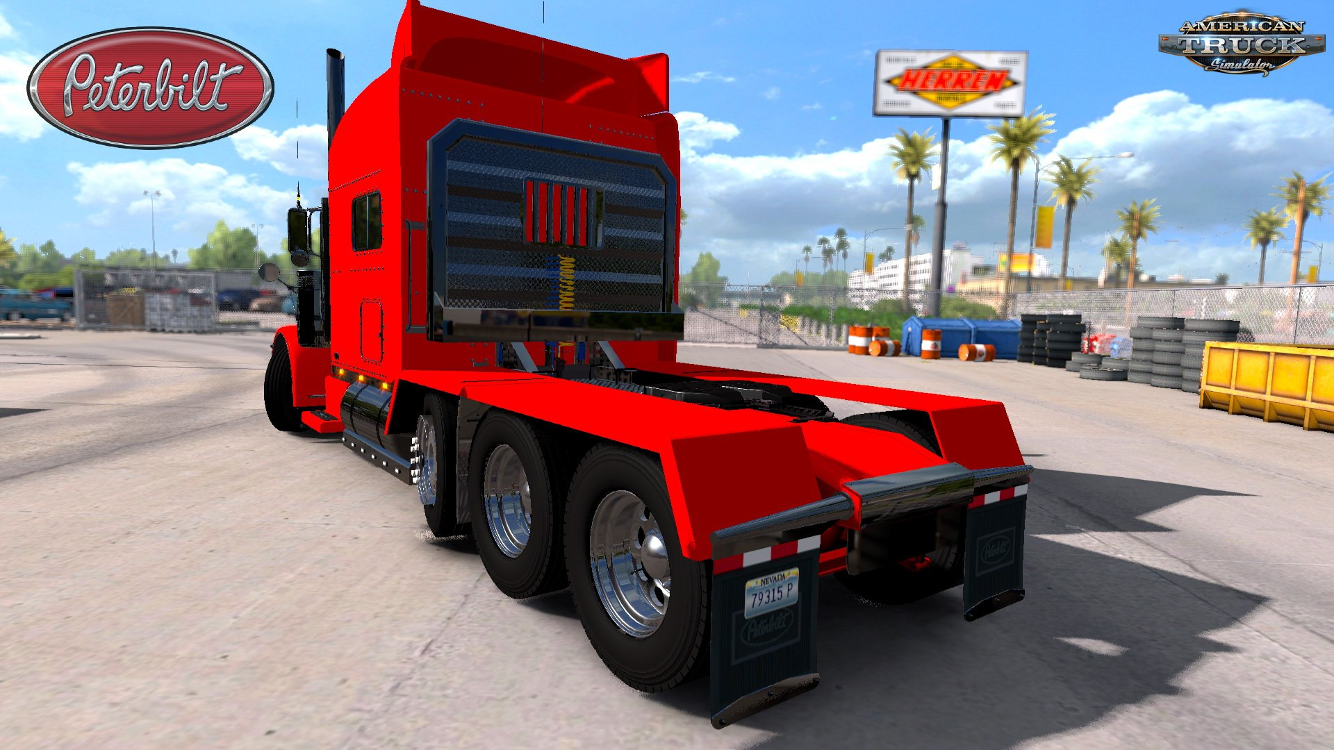 Modified Peterbilt 389 + Interior v2.2.2 (1.32.x)