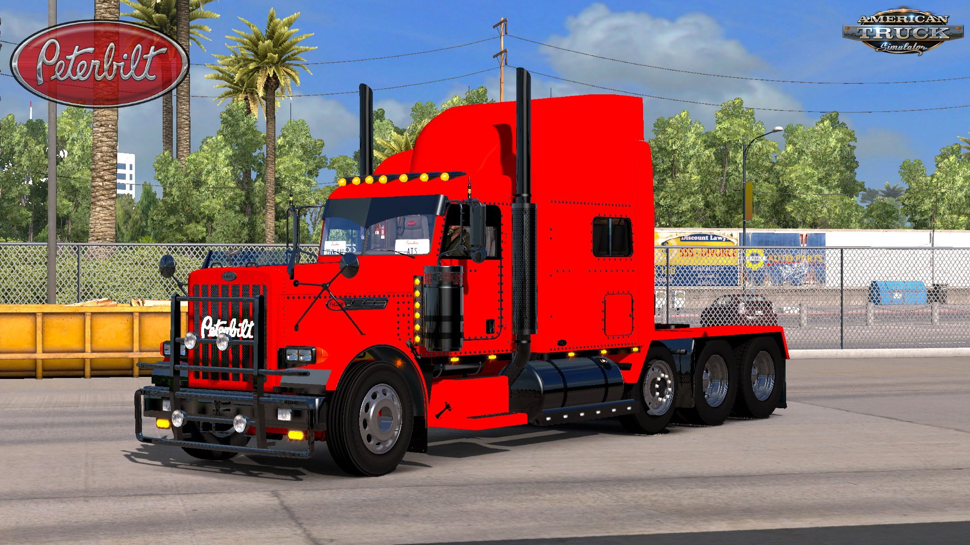 Modified Peterbilt 389 + Interior v2.2.1 (1.32.x)