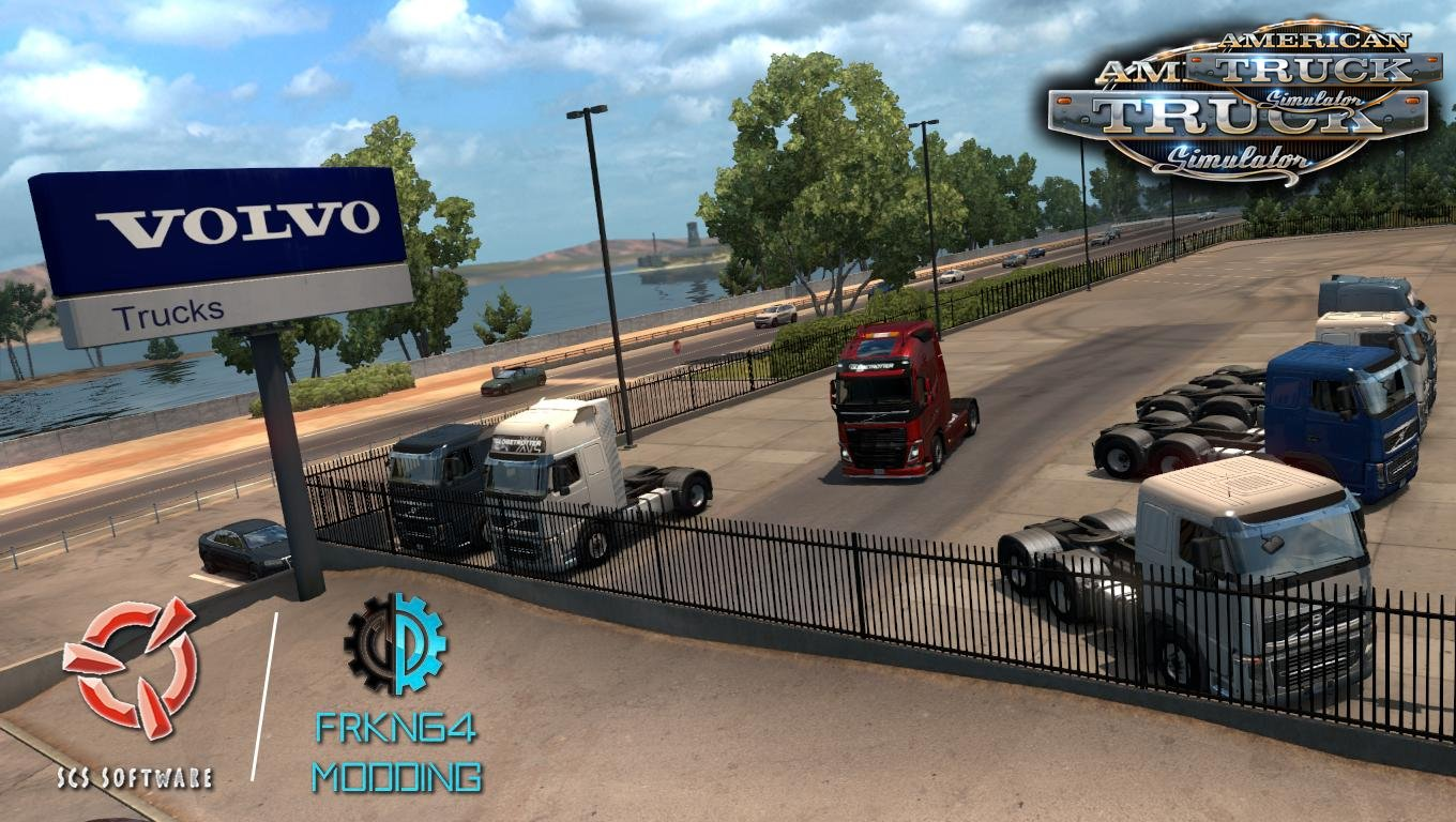 Volvo FH16 Trucks v3.1 by Frkn64 for Ats