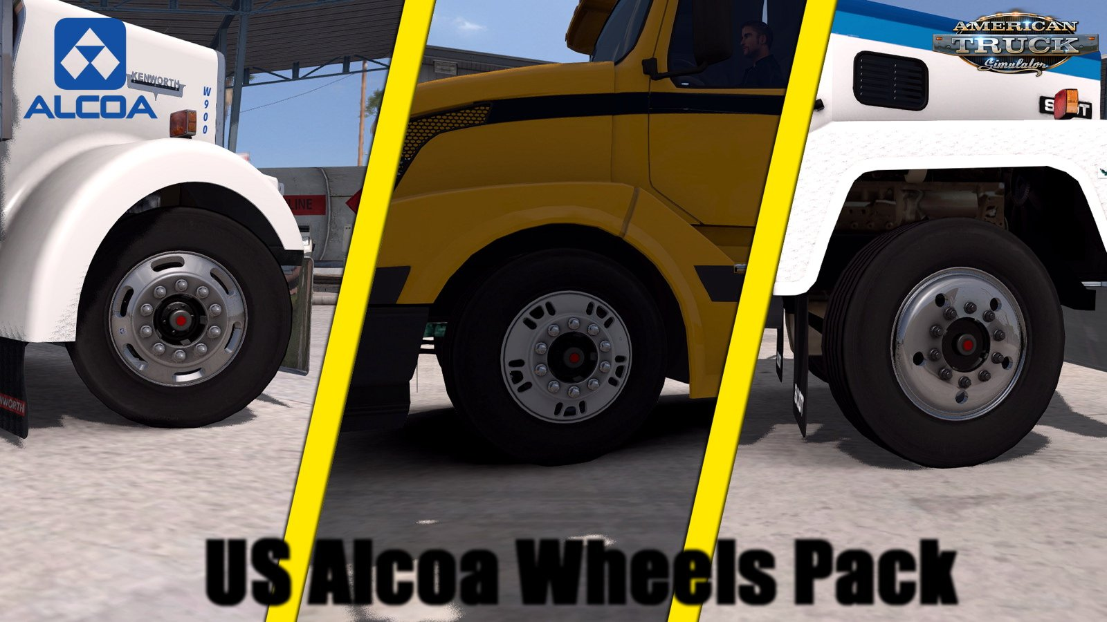 US Alcoa Wheels Pack v1.3 (1.28.x)