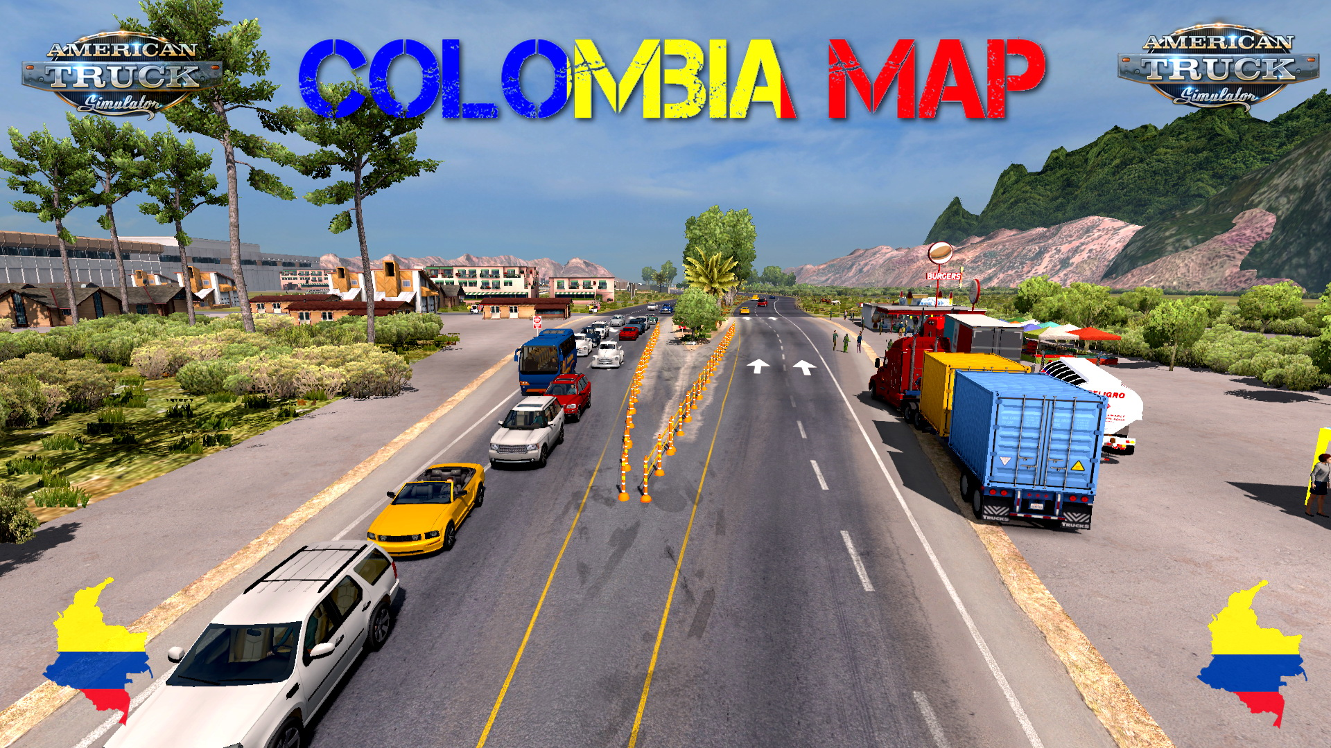 Colombia Map v1.1 (Beta Version) by Alexander Garcia (1.33.x)