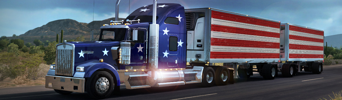 New World of Trucks Event: Double-trailer Logistics
