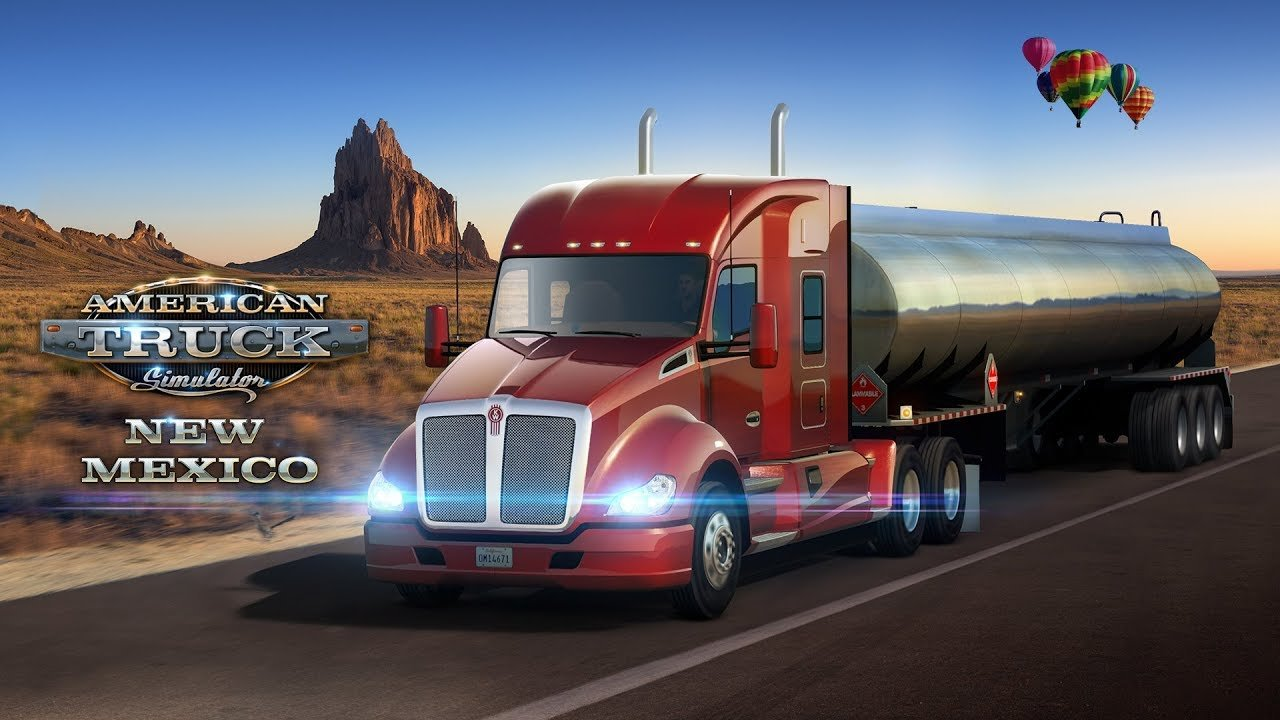 American Truck Simulator - New Mexico DLC date release next week