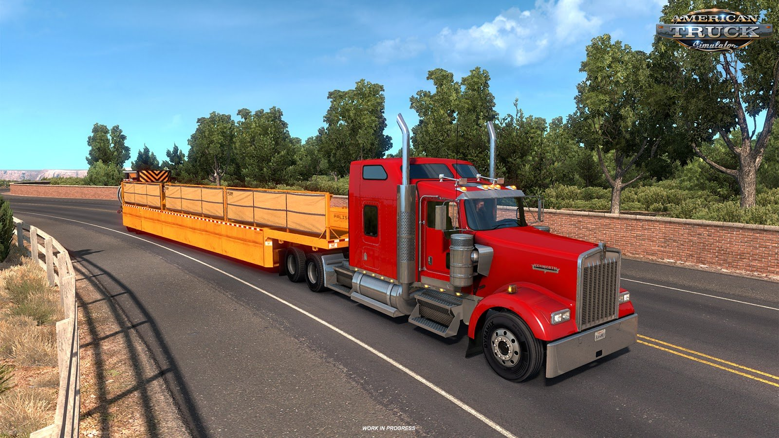 American Truck Simulator Update 1.29 Open Beta