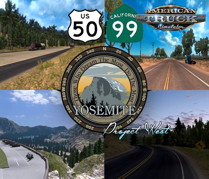Project US Expansion v2.6.2 (US 50 & CA 99 Mod) (1.36.x) for ATS