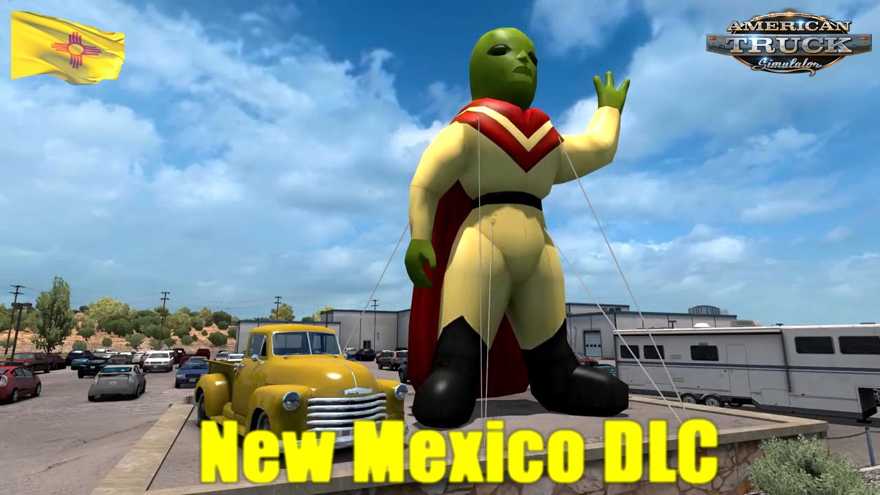 Download New Mexico DLC for American Truck Simulator