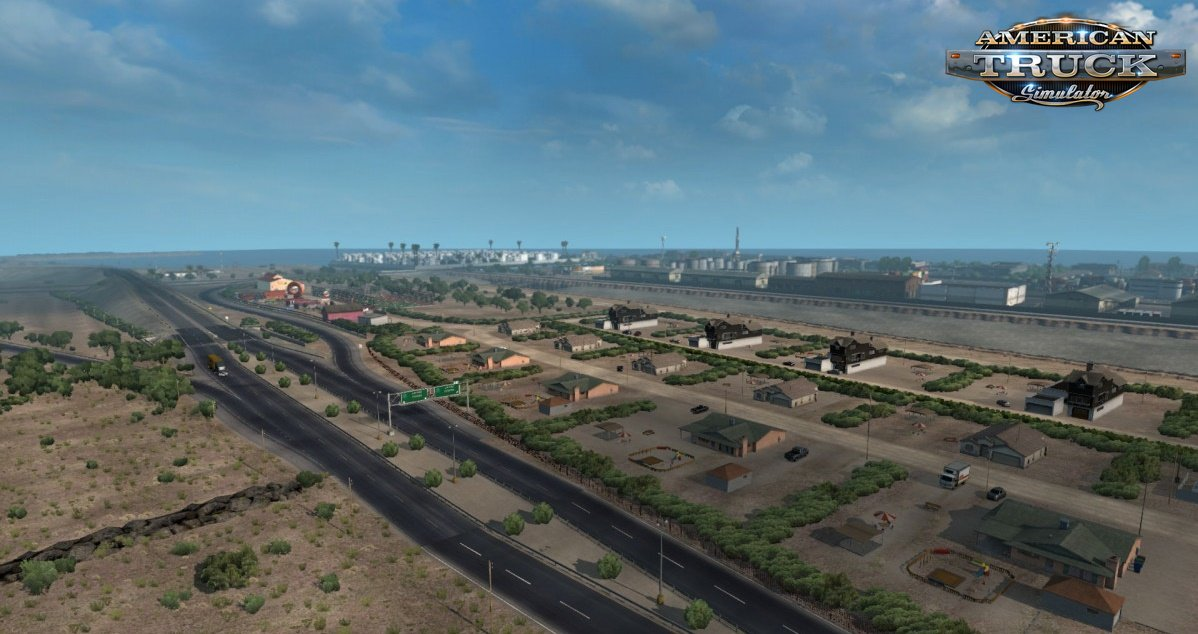 La Paz & Cabo San Lucas Edit v1.1 (Viva Mexico Map) for Ats