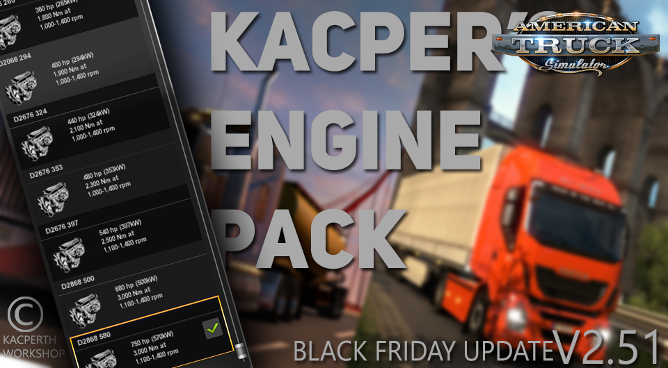 Kacper's Engine Pack v2.51 [1.29.x]