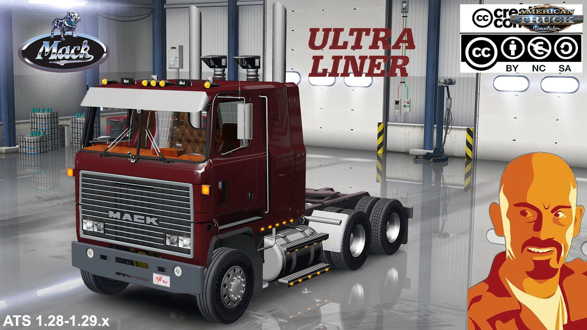 Mack Ultraliner + Interior v1.0 by CyrusTheVirus (1.31.x)
