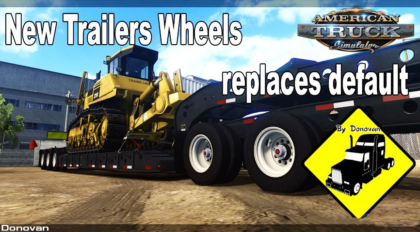 New Trailers Wheels (Replaces Default) v1.0 (1.29.x)