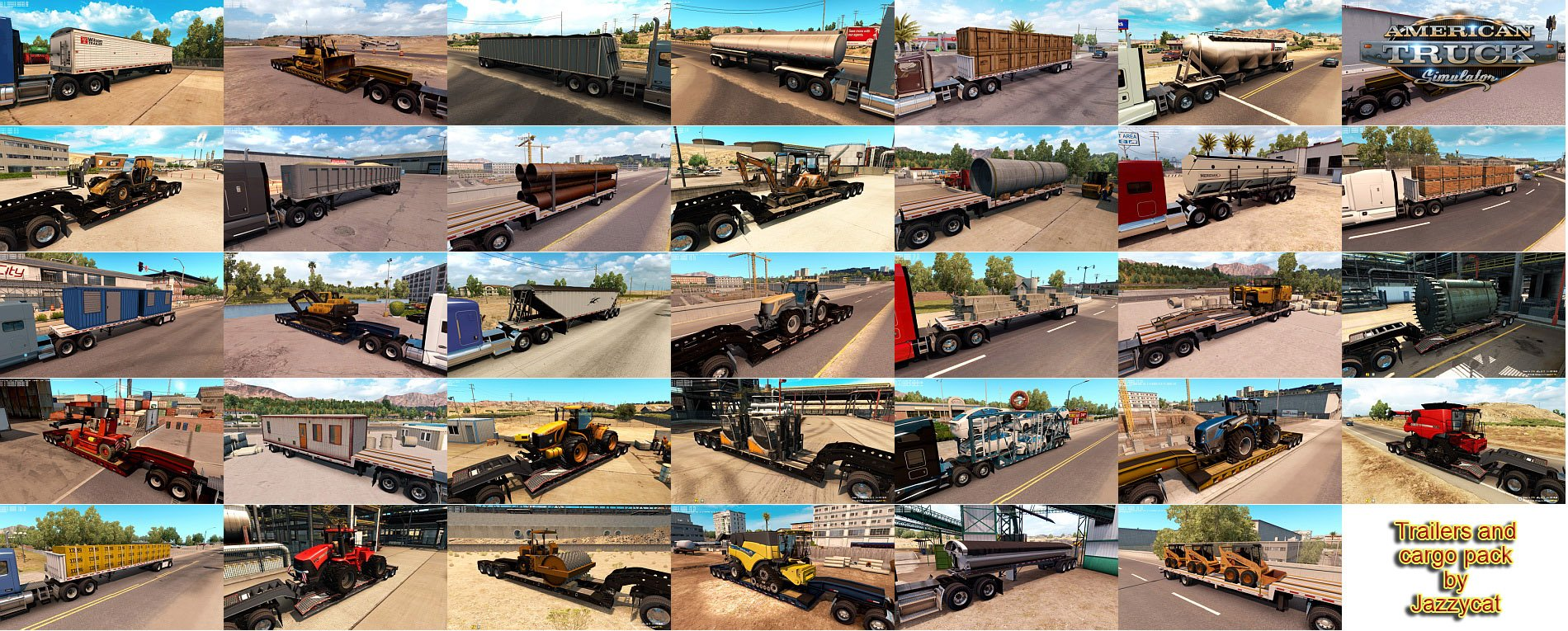 Trailers and Cargo Pack v1.9 by Jazzycat