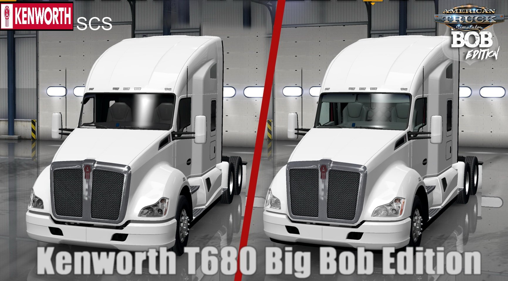 Kenworth T680 Big Bob Edition v1.0 (1.29.x)
