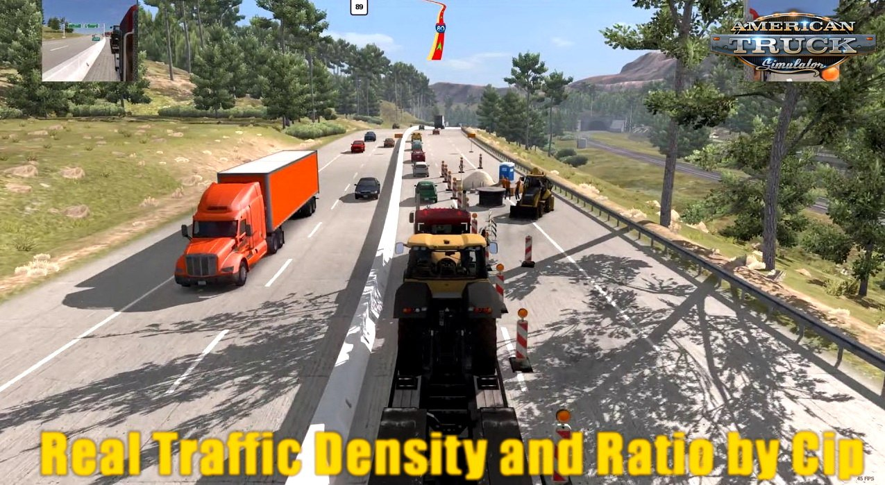 Real Traffic Density and Ratio for Ats 1.32 beta