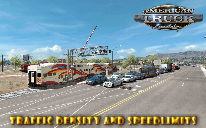 Traffic density and Speedlimits + Doubles in Traffic addon v1.0 (1.29.x)