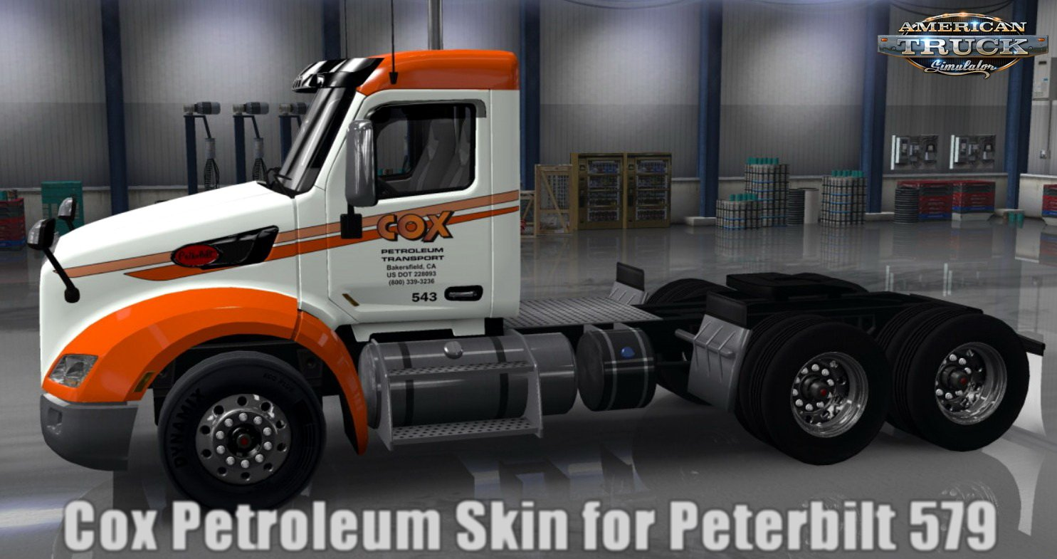 Cox Petroleum Skin for Peterbilt 579 v1.0 (1.30.x)