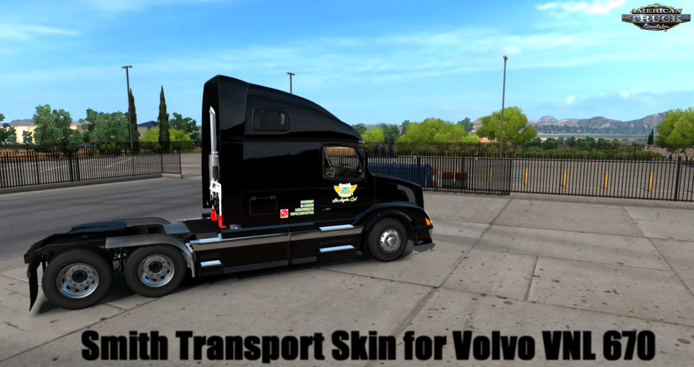 Smith Transport Skin for Volvo VNL 670 v1.0 (1.30.x)