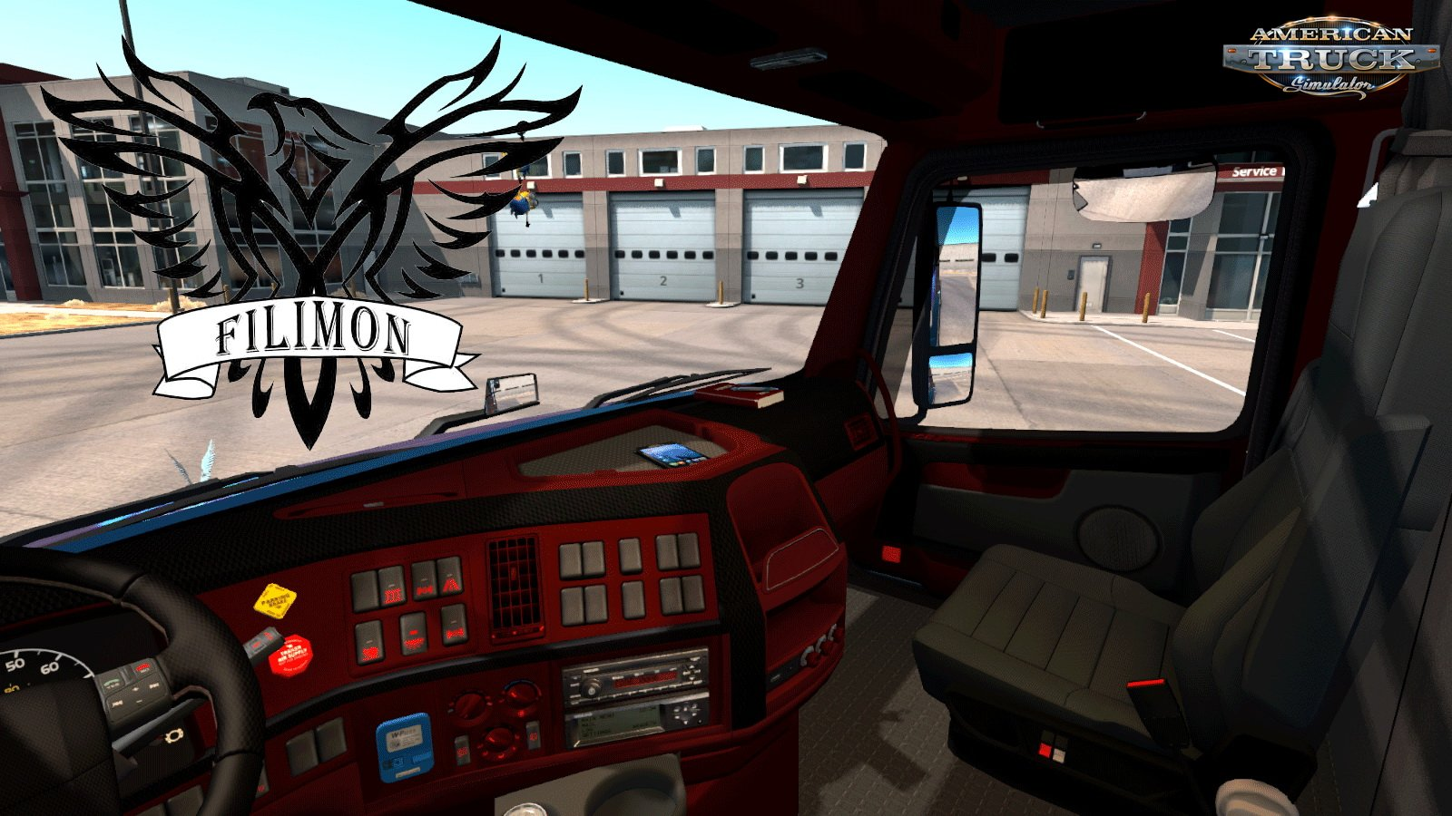 New Interior for Volvo VNL670 by Aradeth v1.0 (1.30.x)
