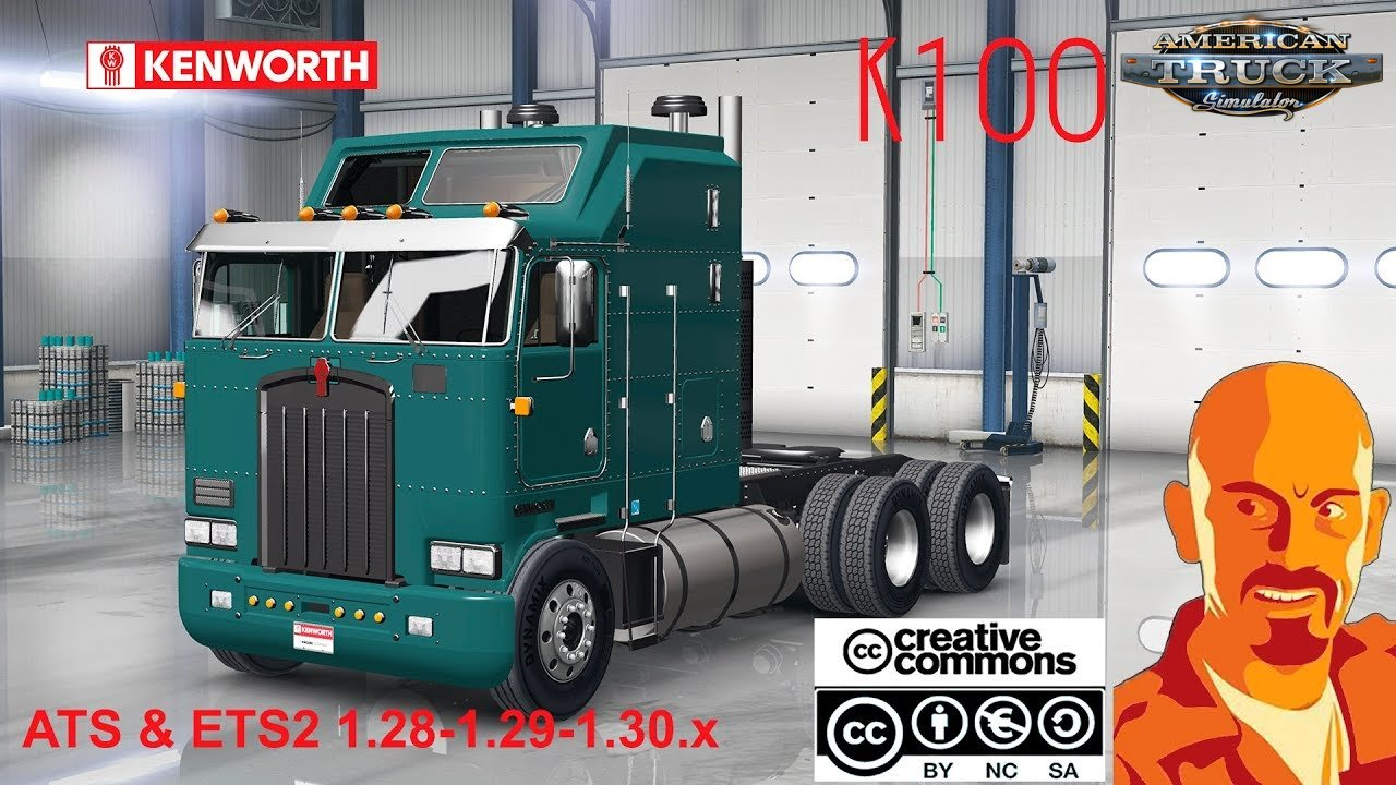 Kenworth K100 for Ats [1.30.x]