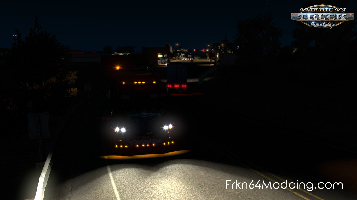 Realistic Vehicle Lights v3.1 by Frkn64 (1.32.x)