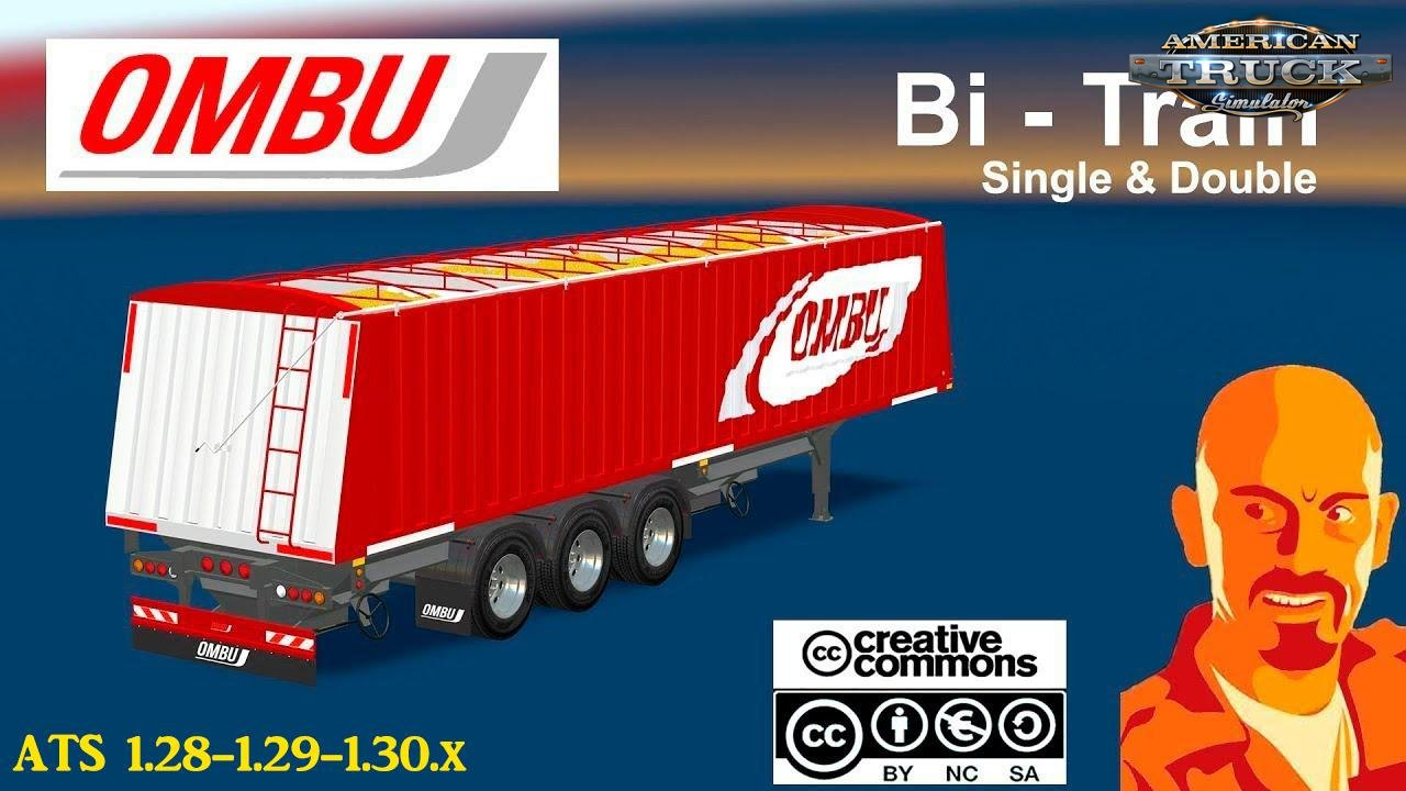 Ombu Bi-Train Trailer (Single & Double) v1.0 (1.31.x)