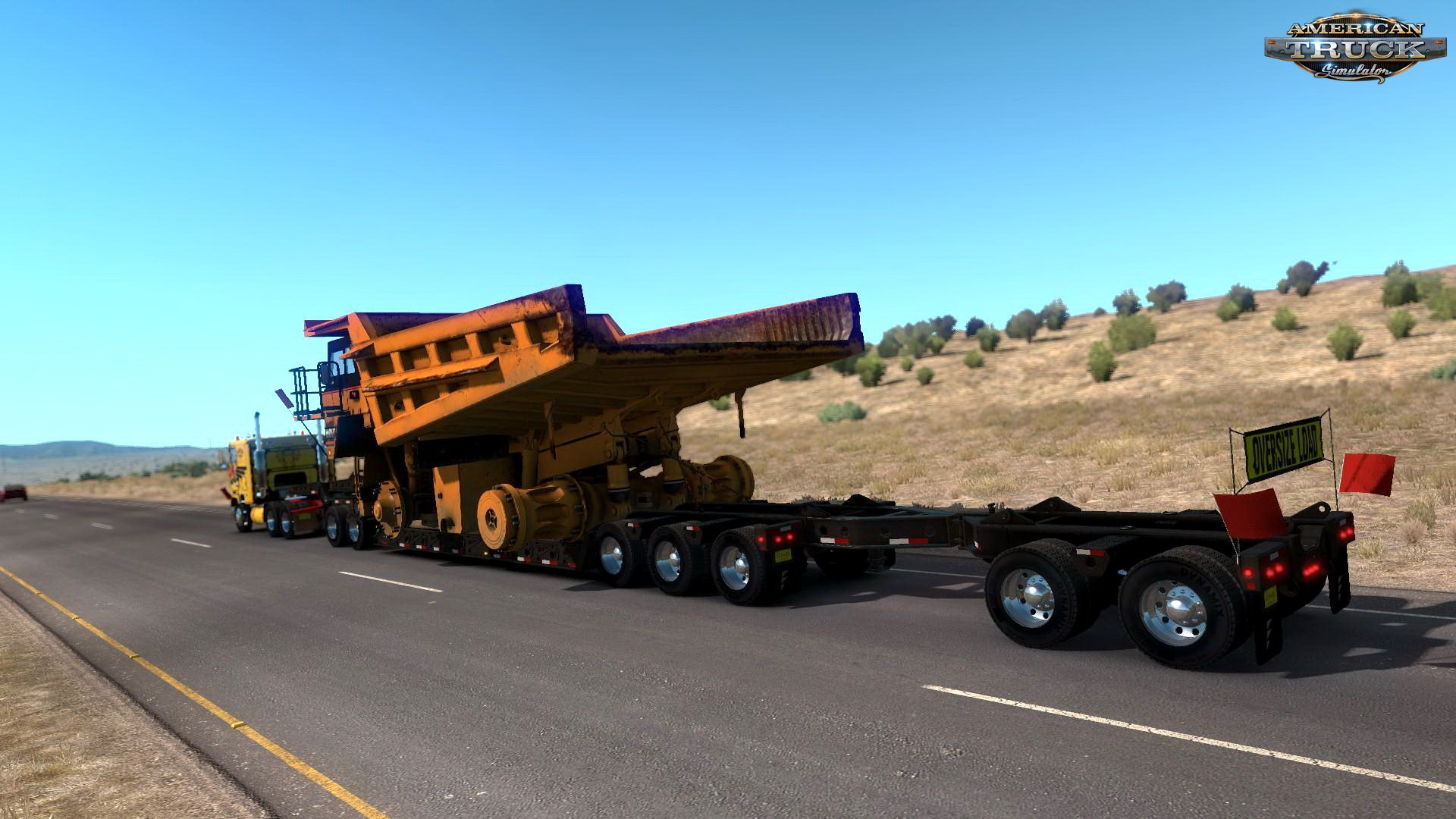 Caterpillar 785C Mining Truck for Heavy Cargo Pack DLC v1.0 by Harven (1.30.x)