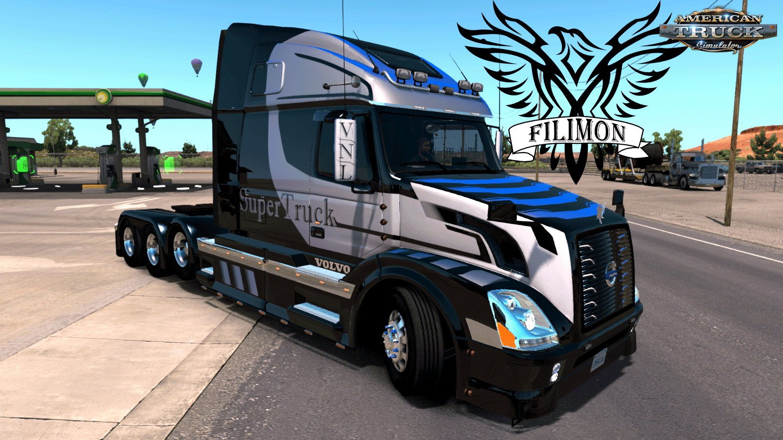 Skin Super Truck for Volvo VNL 670 by Aradeth (1.30.x)