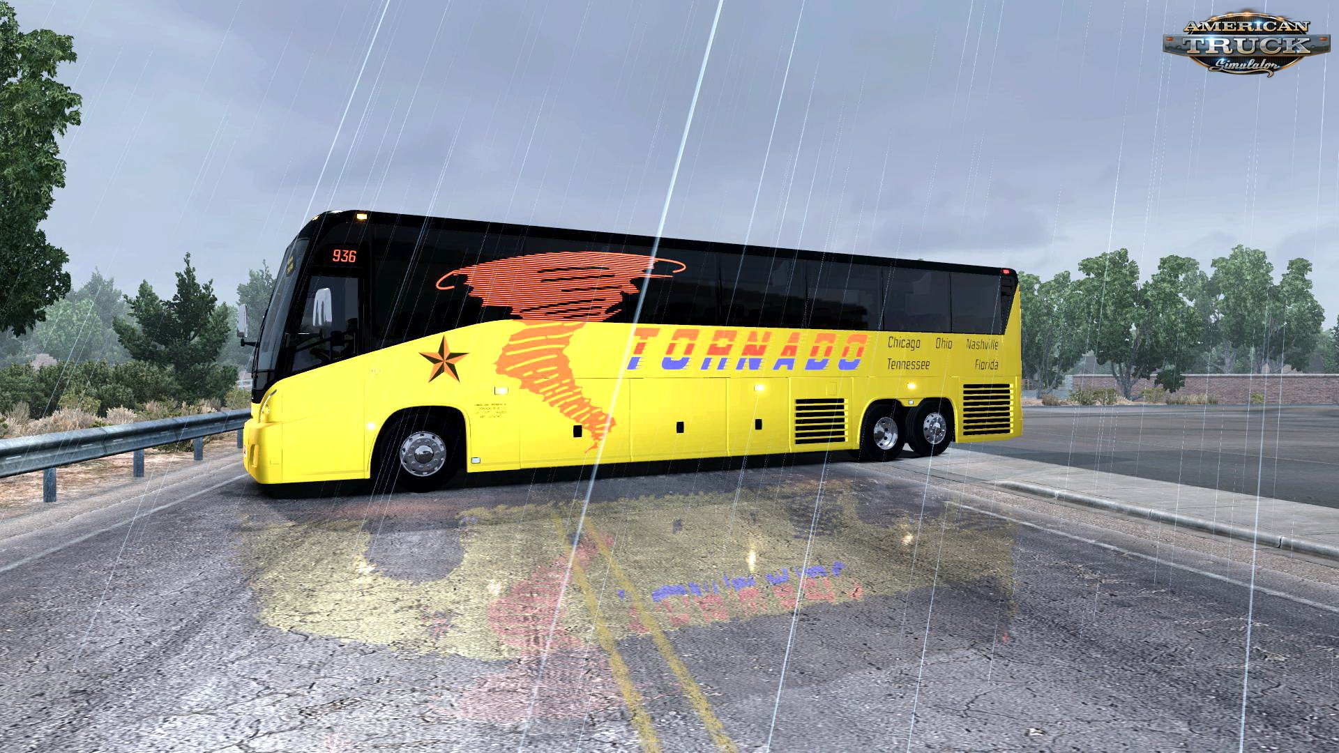 Bus MCI J4500 + Interior v1.0 by DBMX (1.30.x)