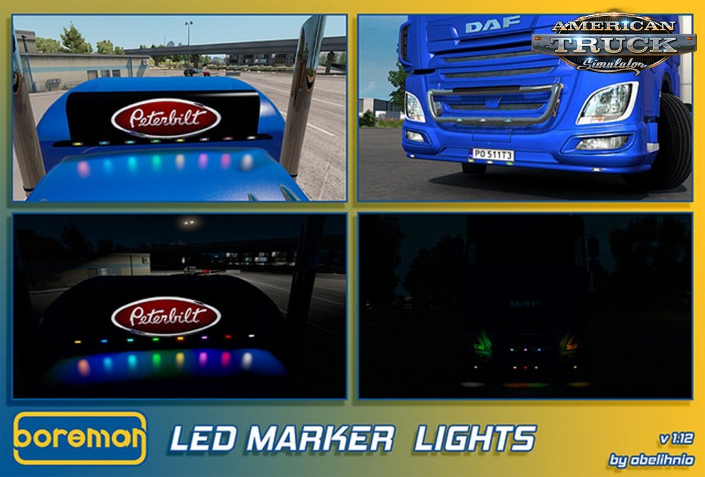 Boreman LED Marker Lights v1.12 by obelihnio