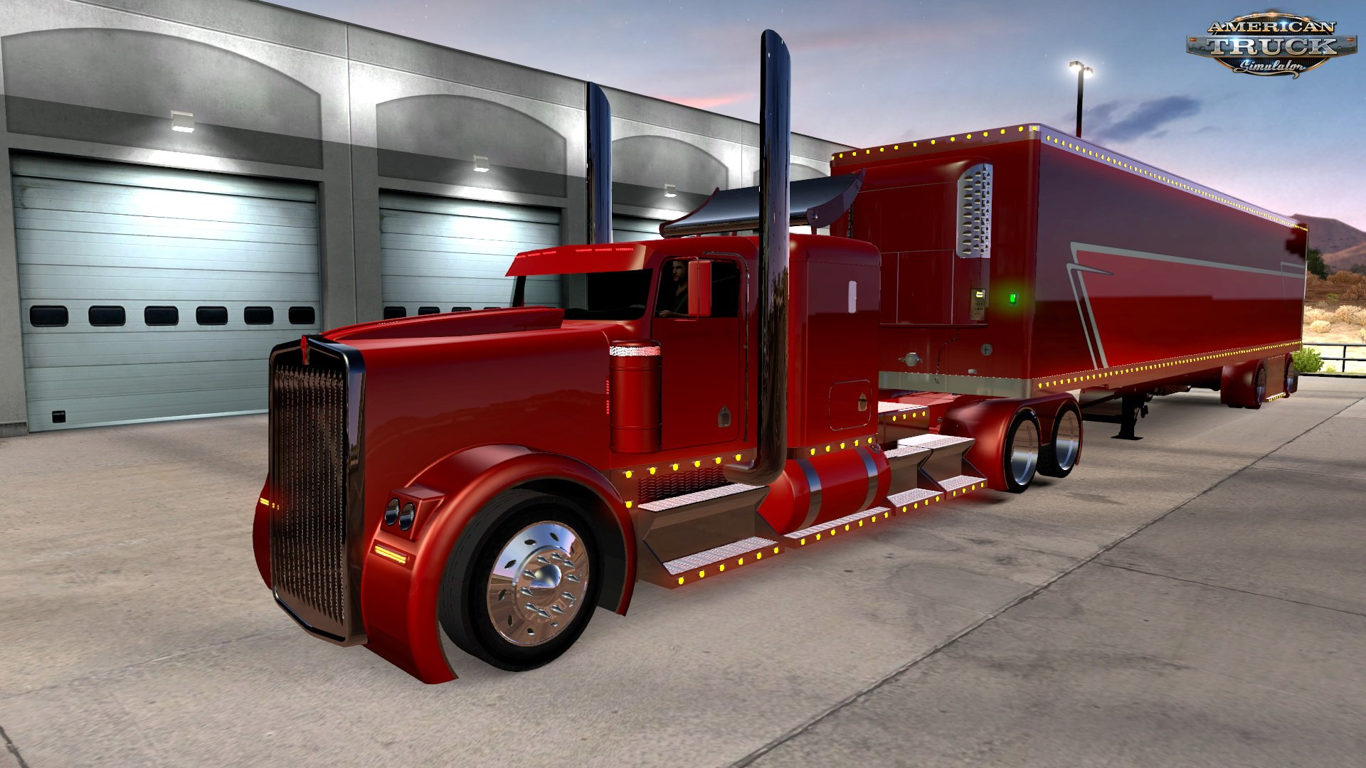 The Phantom Truck + Interior v1.0 by AMT Team (1.30.x)