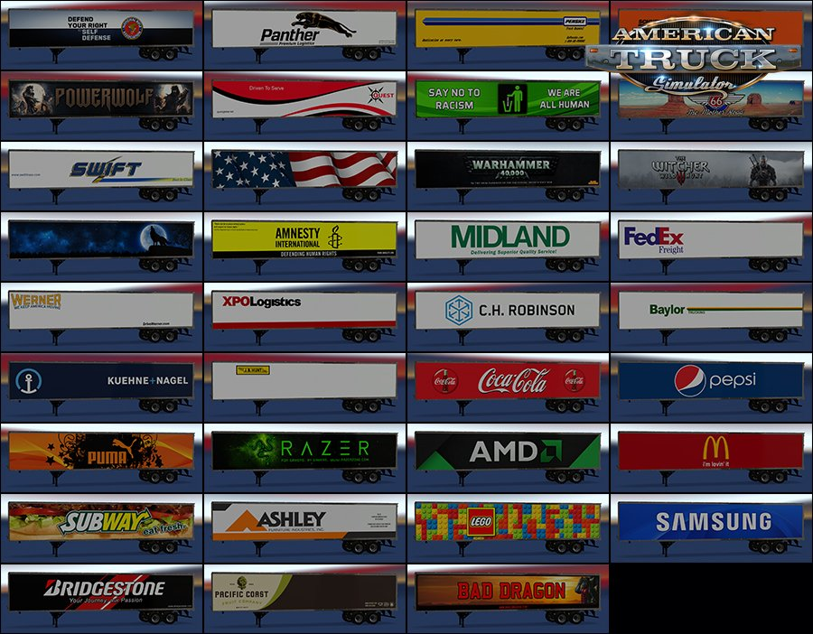 New USA Trailers pack v3.1