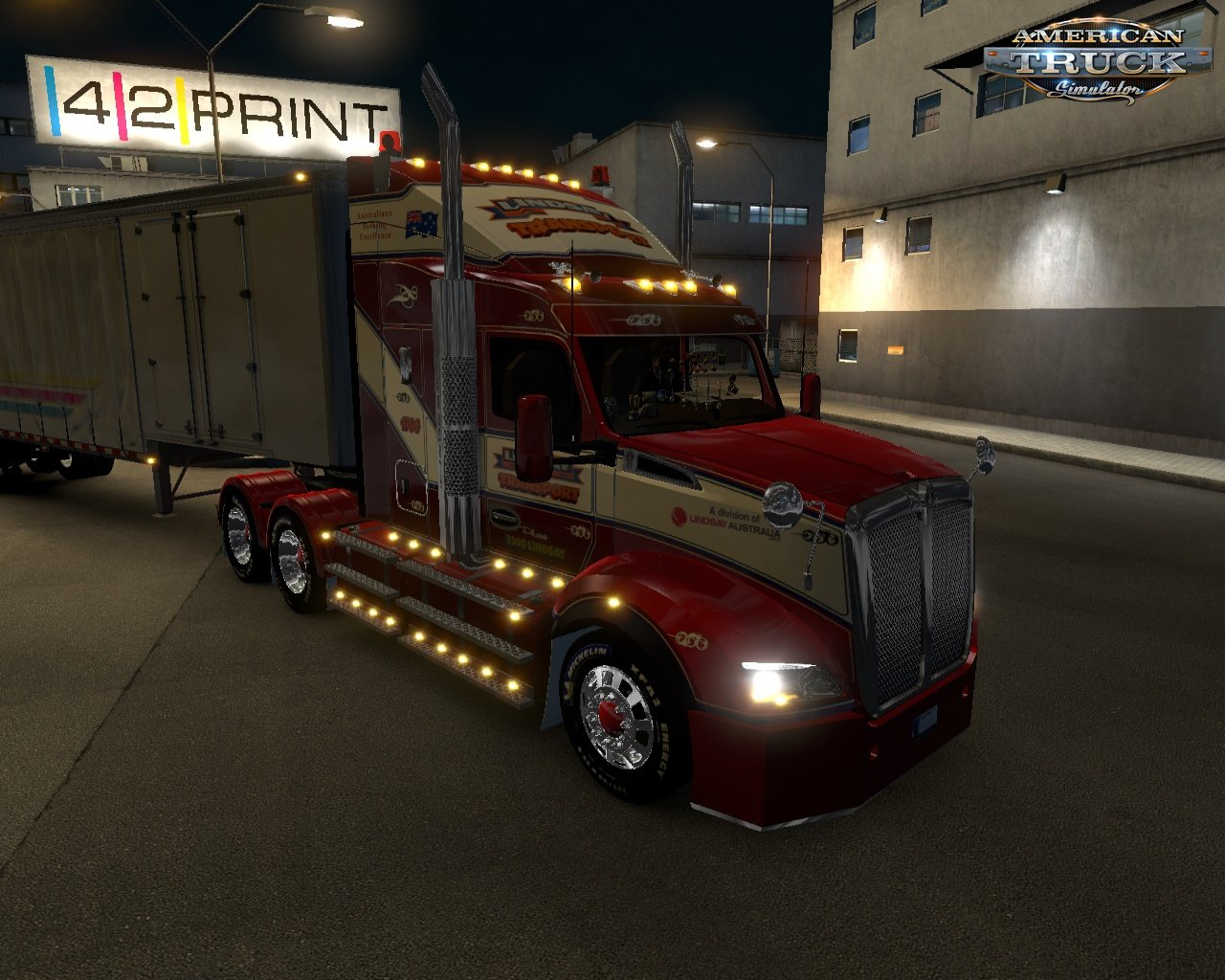 Kenworth T610 v1.0 for Ats