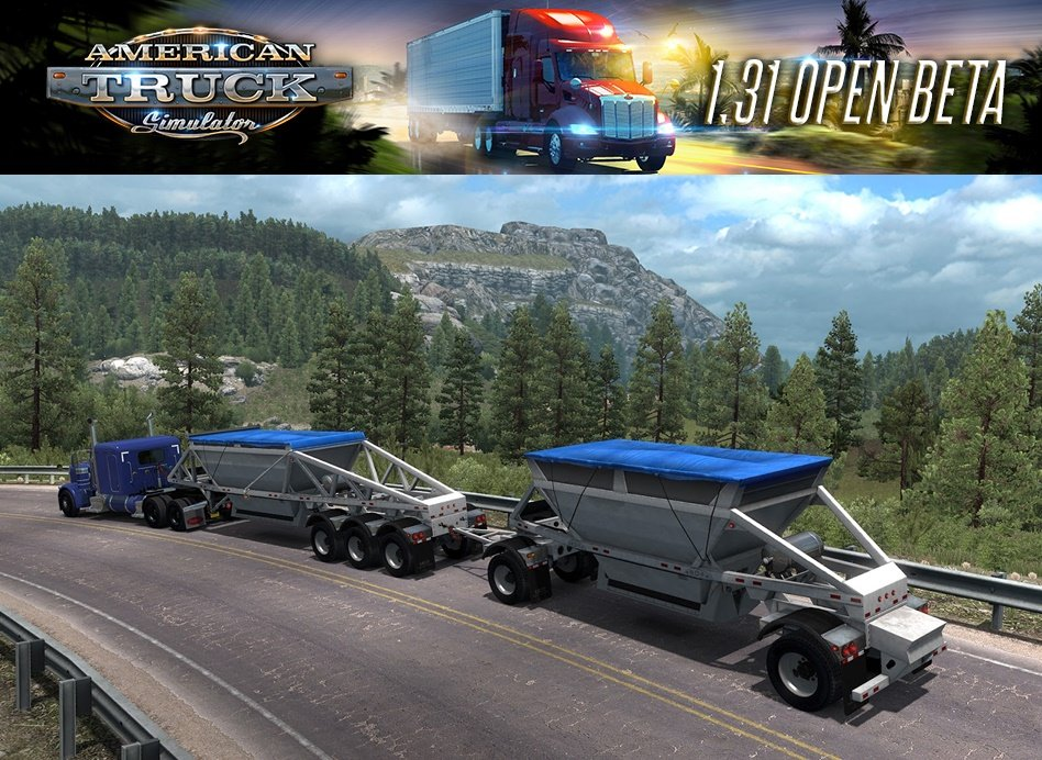American Truck Simulator Update 1.31 Open Beta