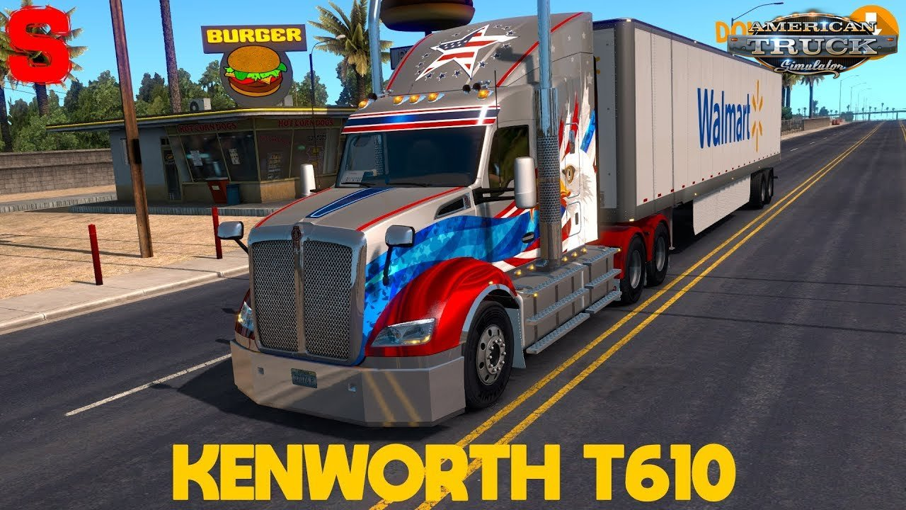 Kenworth T610 by GTM Team (1.30.x) - American Truck Simulator