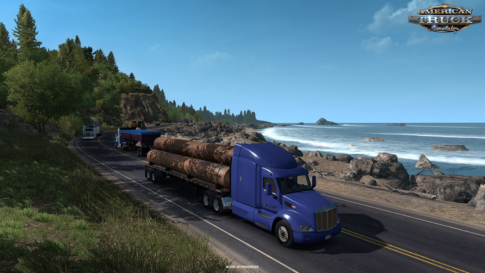 Oregon: Scenic road 101 (Work in progress)