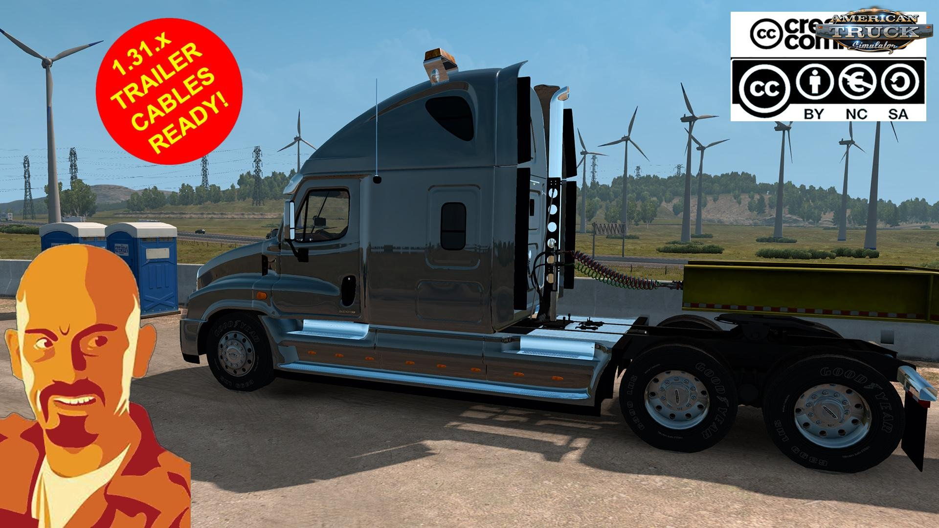 Freightliner Cascadia v1.0 by CyrusTheVirus (1.31.x)