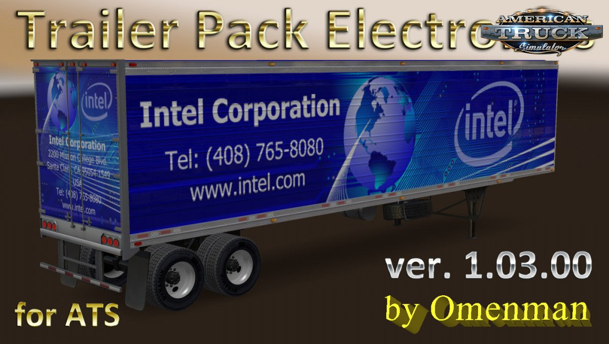Trailer Pack Electronics v.1.03.00 for Ats