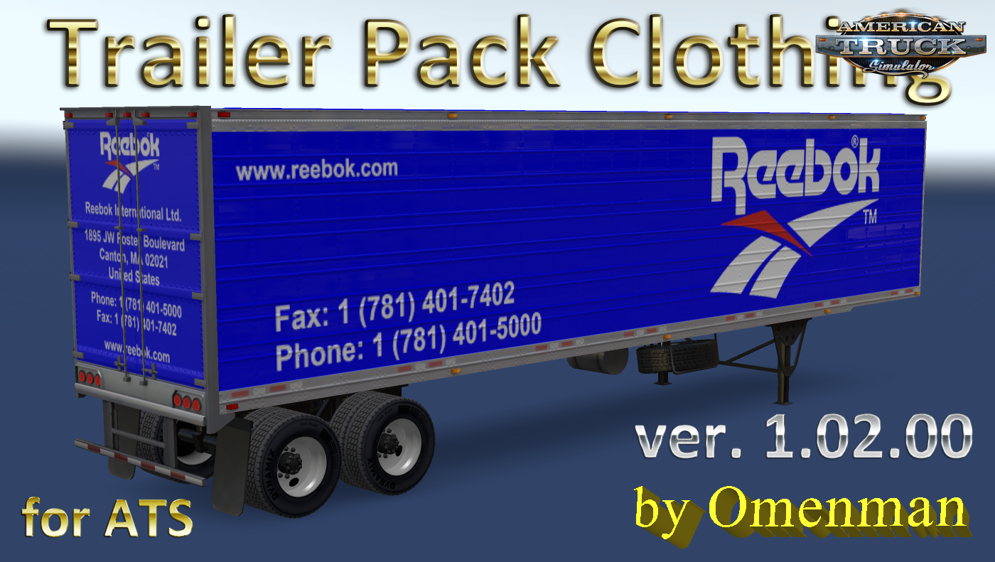 Trailer Pack Clothing v 1.02.00 for Ats