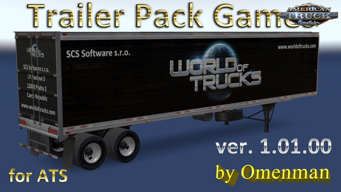 Trailer Pack Games v.1.01.00 for Ats