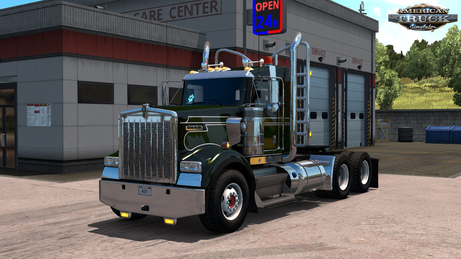 GTM Team Kenworth W900B v1.0