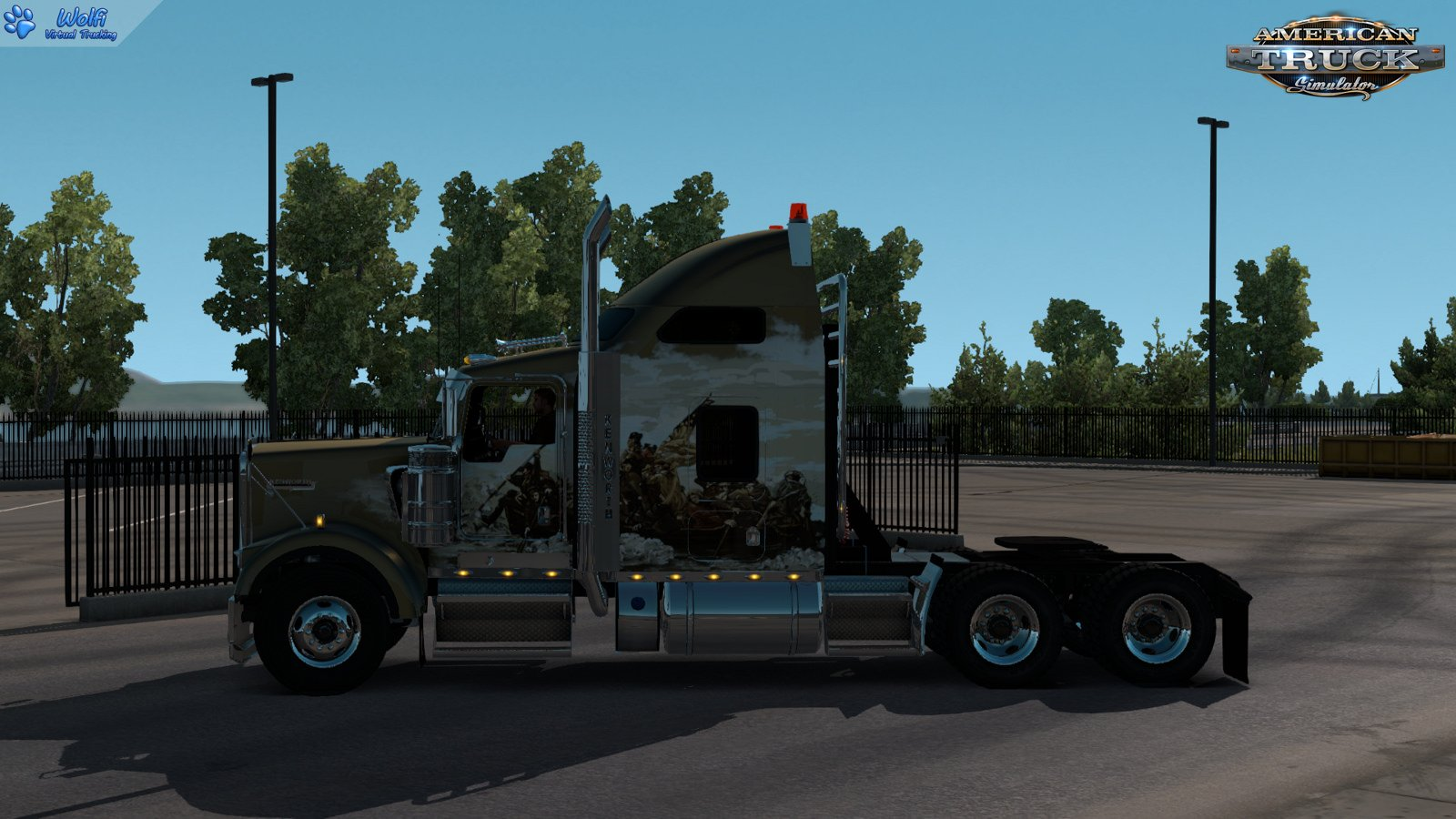 Kenworth W900B + Interior v1.0 by GTM Team (1.35.x)