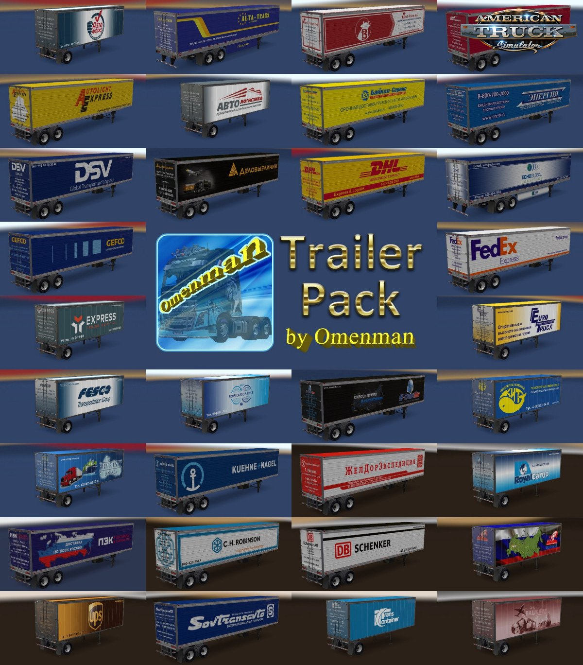Trailer Pack Logistic v 1.04.00 for Ats