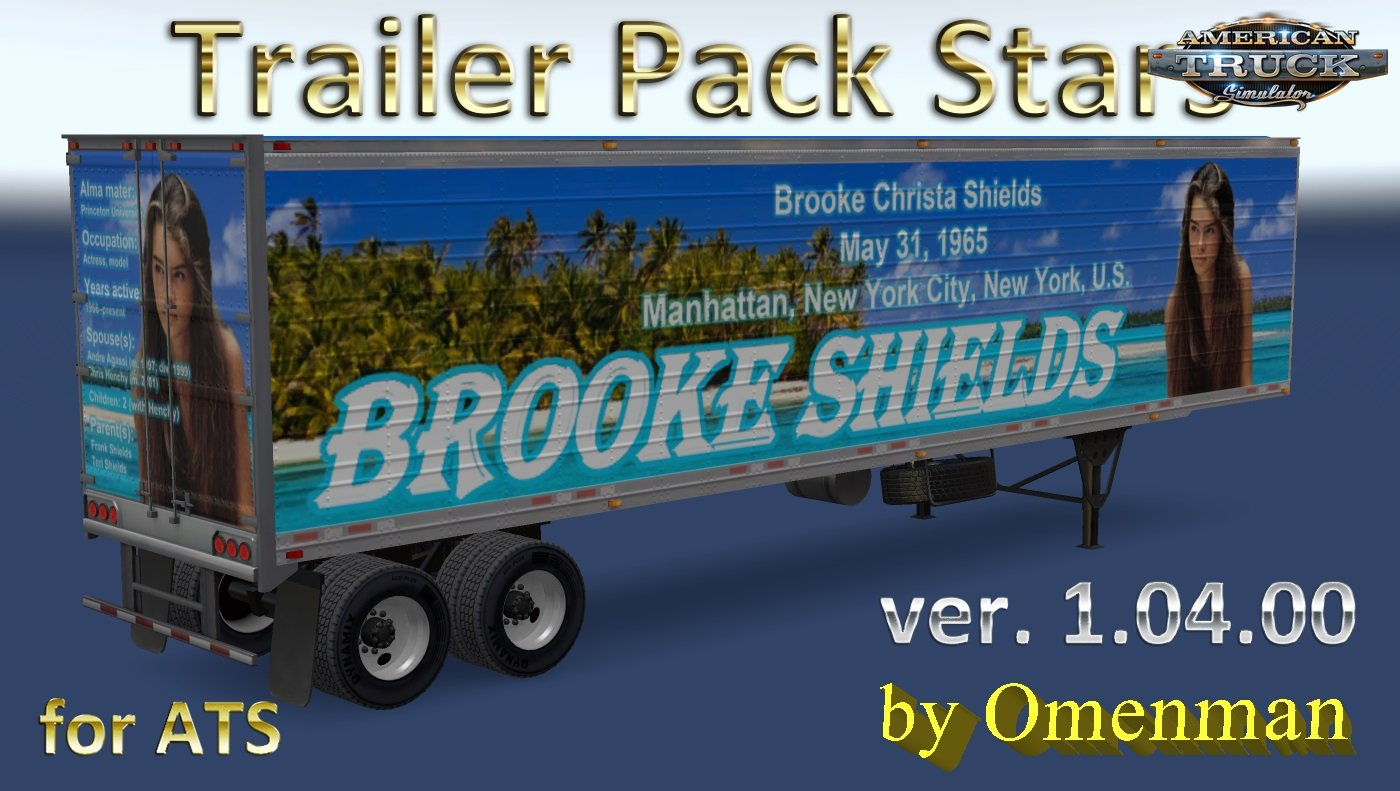 Trailer Pack Stars v.1.04.00 for Ats