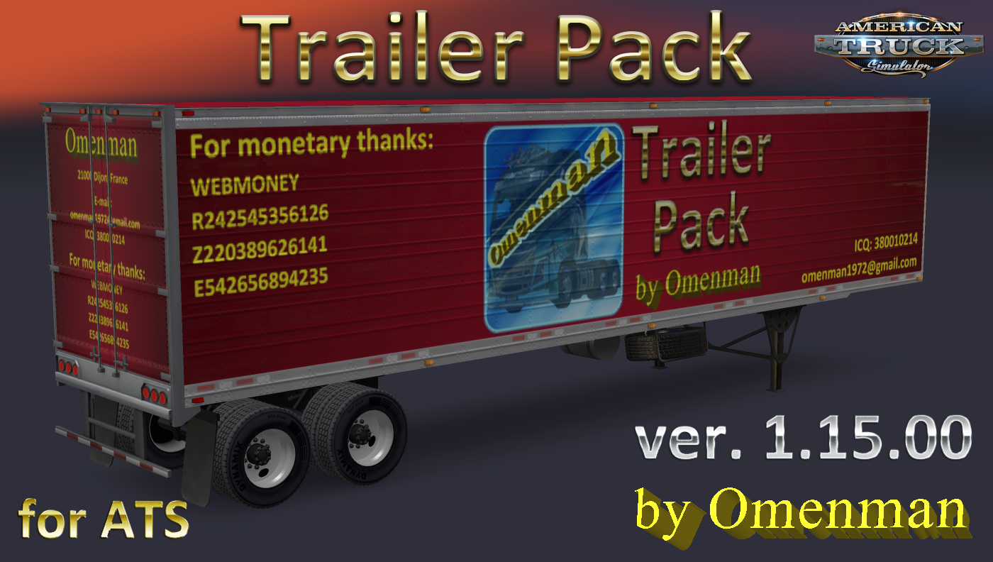 Trailer Pack v.1.15.00 (+Eng) by Omenman