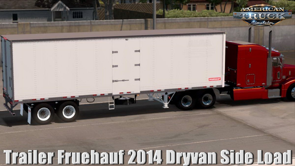 Trailer Fruehauf 2014 Dryvan Side Load v1.0 (1.31.x)